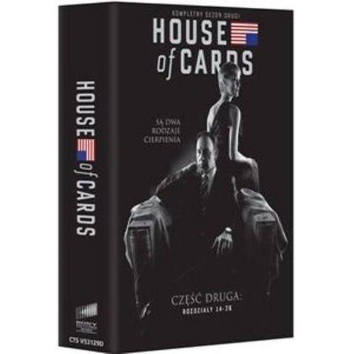 Imperial cinepix House of cards. sezon 2 (dvd) - beau willimon darmowa dostawa kiosk ruchu
