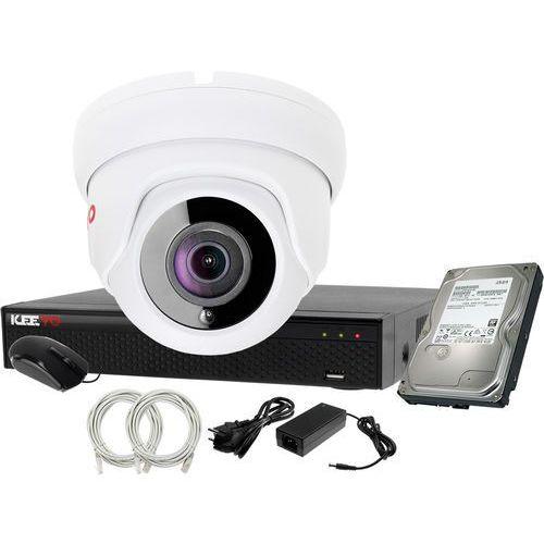 Plug&Play Zestaw do monitoringu IP Rejestrator LV-NVR4415S-4P + 1x Kamera LV-IP2M2DFE + 1TB