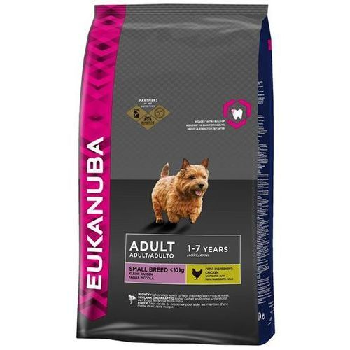 EUKANUBA ADULT SMALL BREED KURCZAK 1kg