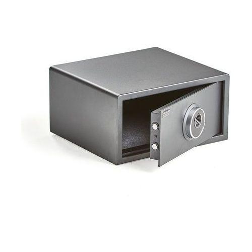 Sejf otwierany odciskiem palca, 230x450x400 mm marki Aj produkty