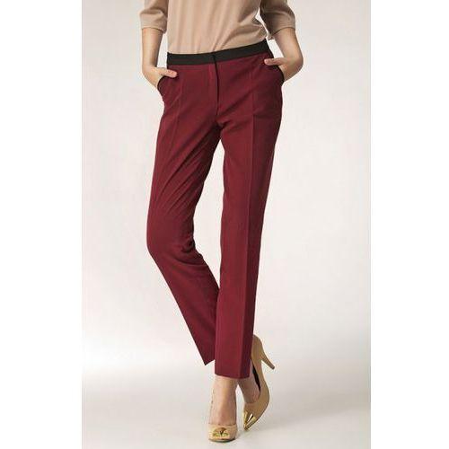 Spodnie model sd07 bordo, Nife