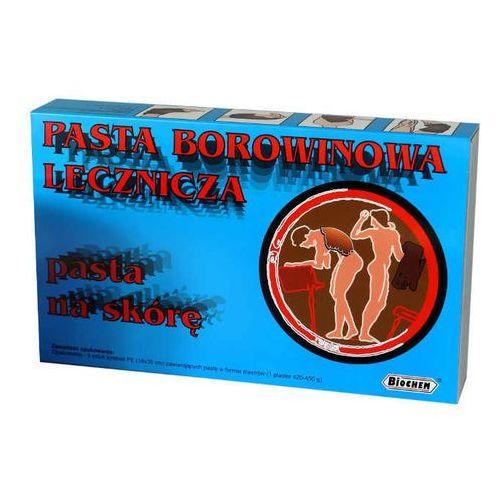 Biochem Plastry borowinowe - pasta borowinowa lecznicza 18 x 30cm x 5 sztuk