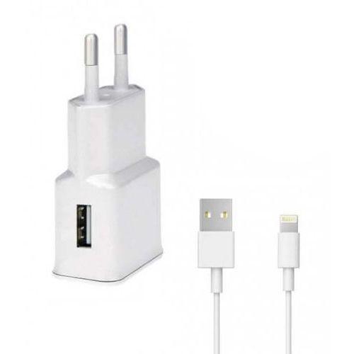 Wg Ładowarka sieciowa fast charging 2,4 a + kabel lightning
