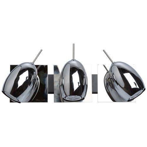 Potrójny kinkiet ścienny led - chromowany techno (506021303) marki Mw-light
