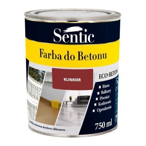 Farba do betonu Sentic klinkier 750 ml, SFB750KL