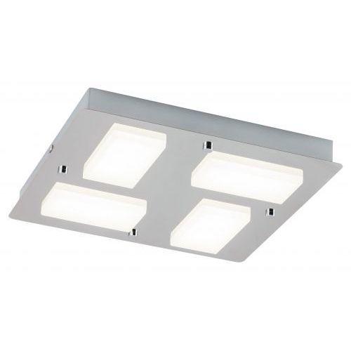 Plafon lampa sufitowa Rabalux Ruben 4x4,5W LED IP44 chrom 5725