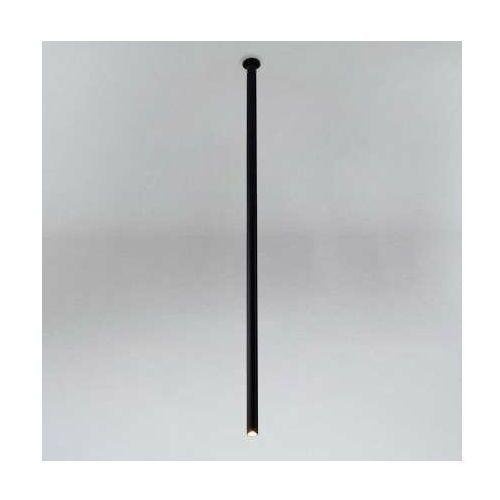 Wpuszczana LAMPA sufitowa ALHA T 9113 Shilo podtynkowa OPRAWA do zabudowy sopel tuba czarna, 9113