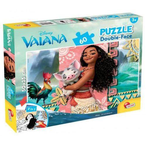 Lisciani Puzzle dwustronne 60 vaiana