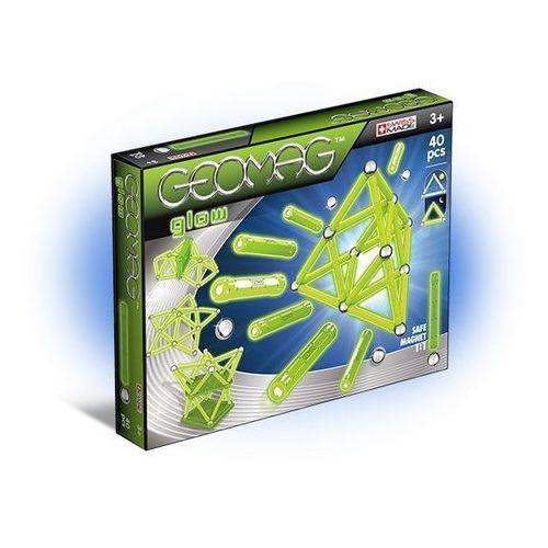 Klocki konstrukcyjne Geomag - Glow 40 elementów 0871772003304