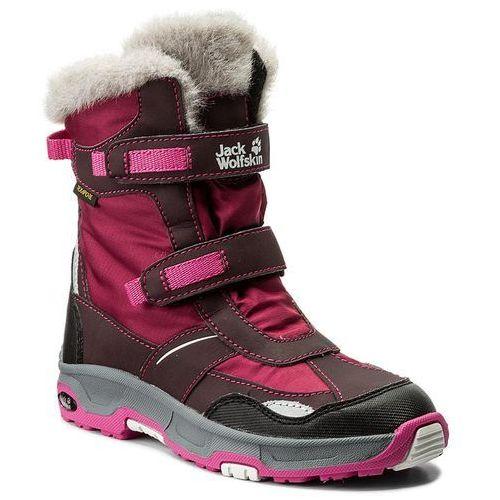 Śniegowce JACK WOLFSKIN - Girls Snow Flake Texapore 4012013 Mahogany S
