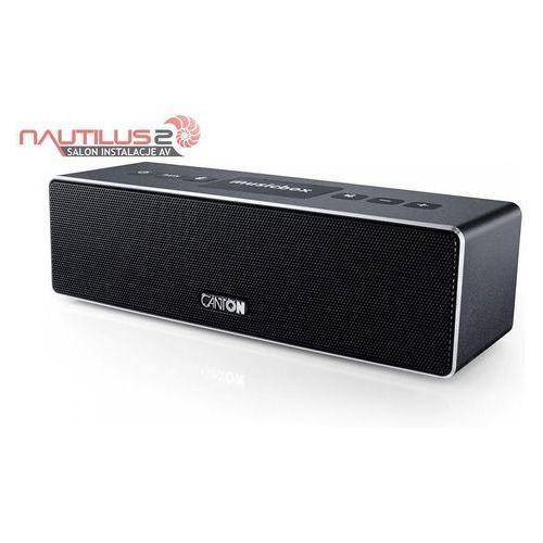Canton  musicbox xs czarny - dostawa 0zł! - raty 20x0% w bgż bnp paribas lub rabat!