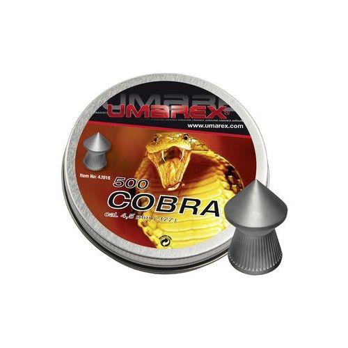Śrut diabolo Umarex Cobra Pointed Ribbed 4,5 mm 500 szt.