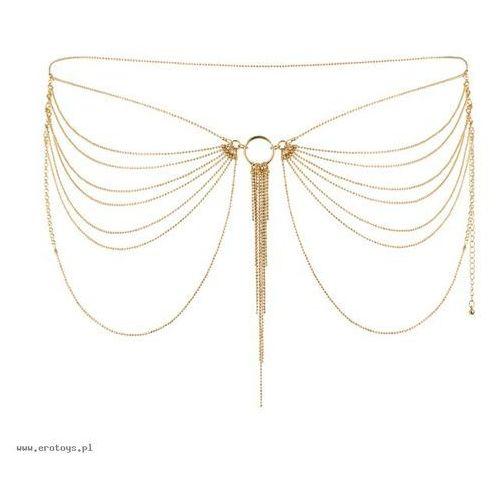 Bijoux indiscrets (sp) Łańcuszek na biodra bijoux indiscrets magnifique (złoty) (8437008003740)