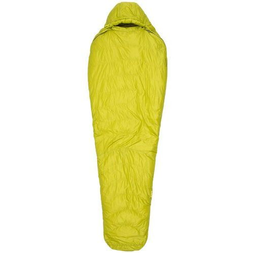 Marmot Hydrogen Sleeping Bag long, dark citron/olive Left 2019 Śpiwory