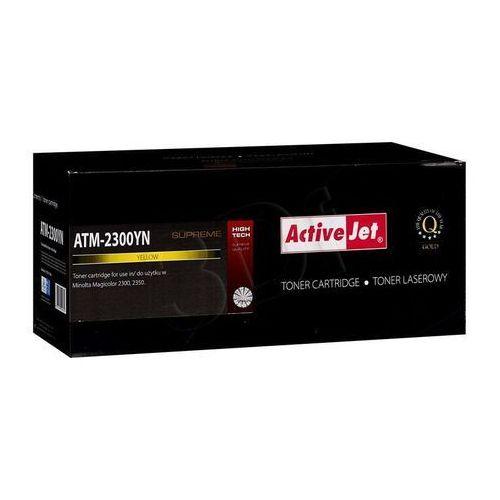 Activejet Toner atm-2300yn yellow do drukarek konica minolta (zamiennik minolta 1710517-006) [4.5k], kategoria: tonery i bębny