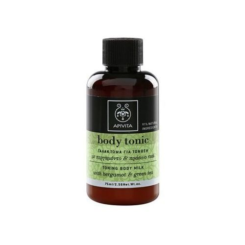 Apivita  body tonic bergamot & green tea mleczko z tonikiem do ciała 75 ml