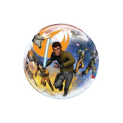 Go Balon foliowy bubble star wars - 56 cm