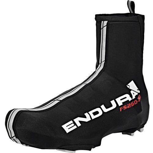 Endura fs260-pro lycra osłona na but czarny 40-42 2018 ochraniacze na buty i getry (5055205371870)