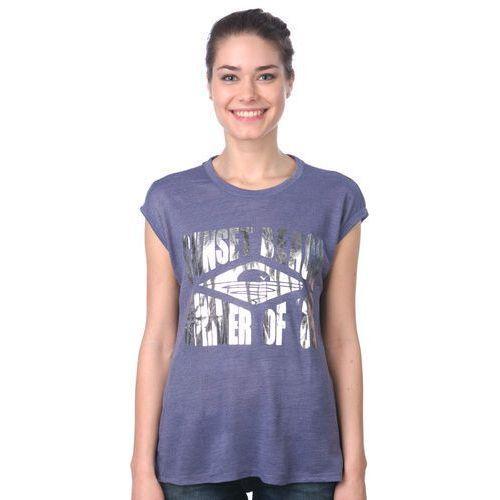 Brave Soul koszulka bez rękawów damska Tess XS niebieski, kolor niebieski