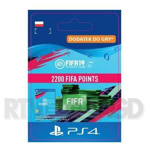 Fifa 19 2200 punktów [kod aktywacyjny] marki Sony