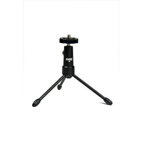 Rode Tripod statyw mini tripod, obrót 360°, adapter 1/4 do 3/8″, do dowolnego mikrofonu