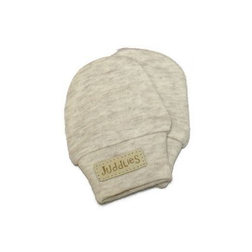 rękawiczki niedrapki oatmeal flec marki Juddlies