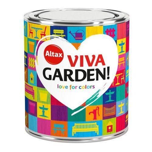 Farba Ogrodowa Viva Garden 0,75L Słonecznikowy Ogród Altax, kolor Słonecznikowy