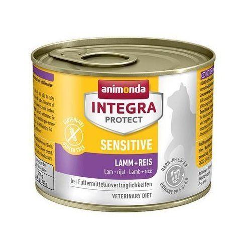 Animonda Integra Protect Sensitive dla kota - z jagnięciną i ryżem puszka 200g - produkt z kategorii- Pozostałe dla kotów