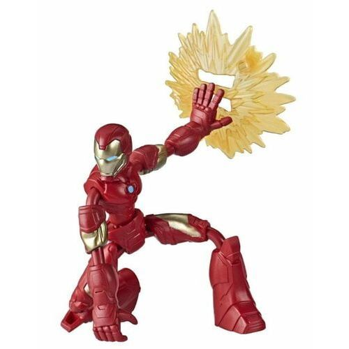 Figurka avengers band and flex iron man
