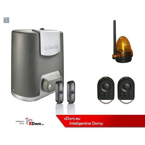 Nowe elixo 500 230 v comfort pack (2 piloty 4-kanałowe keygo, lampa, fotokomórki) marki Somfy
