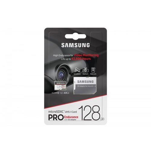 Samsung MB-MJ128GA/EU Pro Endurance 128GB + Adapter