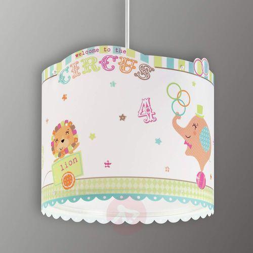 Dalber 62622 - Lampa wisząca dziecięca CIRCUS 1xE27/60W/230V, NR. 62622
