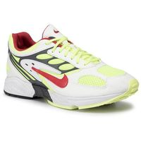 Nike Buty - air ghost racer at5410 100 white/atom red/neon yellow