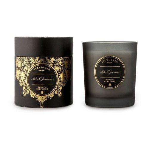 - sense roundbox - świeca zapachowa - black jasmine: jaśmin i piżmo marki Victorian