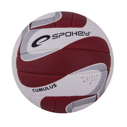 Piłka siatkowa SPOKEY 837383 Cumulus II Bordowy (rozmiar 5) (5901180373838)