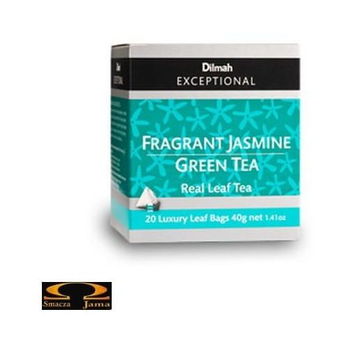 Dilmah Herbata elegant jasmine green tea - jasminowa królowa 20 torebek