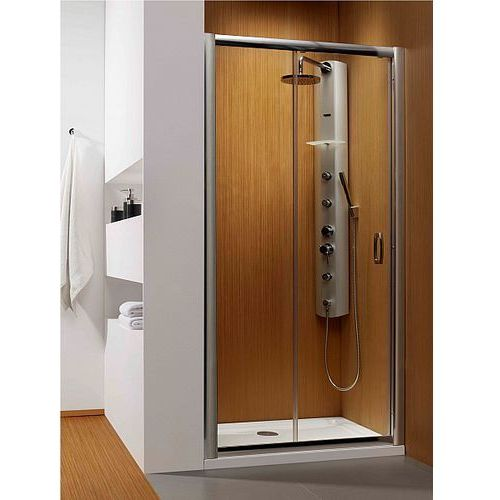 Radaway  premium plus dwj drzwi wnękowe jednoskrzydłowe 120 cm 33313-01-01n rodzaj drzwi: przesuwane