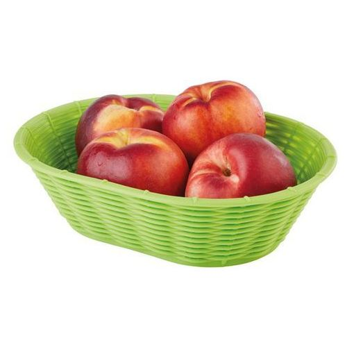 Aps Koszyk owalny do chleba lub owoców | 230x170x(h)65mm | różne kolory