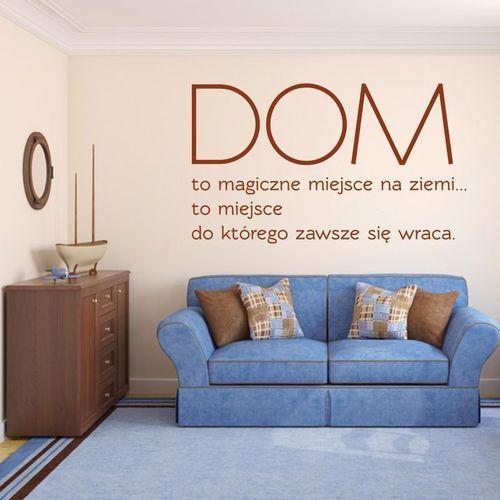 Naklejka dom to magiczne miejsce 1943 marki Wally - piękno dekoracji