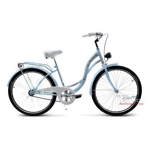 Przykładowy producent Rower miejski 26 Vanessa błękitna (stożki) - Błękitny