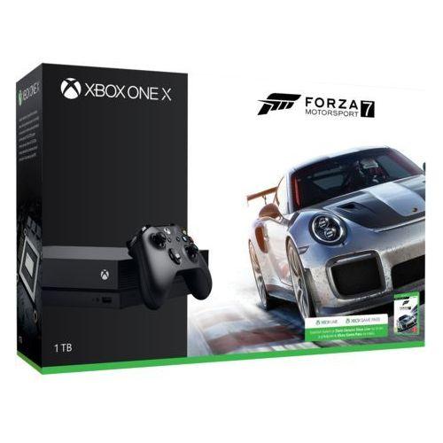 Konsola Microsoft Xbox One X 1TB. Najniższe ceny, najlepsze promocje w sklepach, opinie.