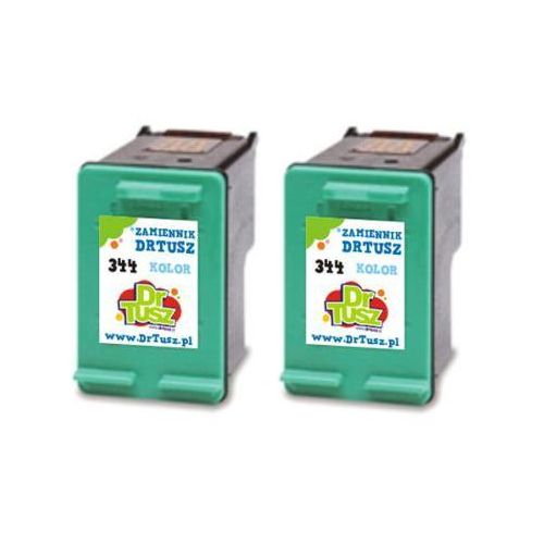 Tusze Zamienniki 344 do HP (C9505EE) (Kolorowe) (dwupak) - DARMOWA DOSTAWA w 24h