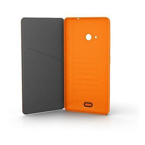 Nokia Flip cover microsoft cc-3092 pomarańczowy do lumia 535 / lumia 535 dual sim - pomarańczowy