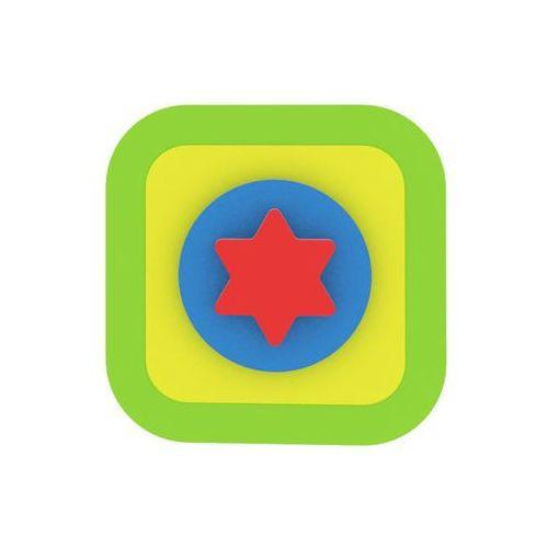 Moje první puzzle - tvary čtverec/hvězda zelená marki Neuveden