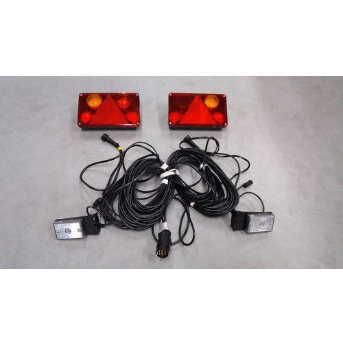 Zestaw oświetlenia do przyczep 7pin 12V-24V WIOLA I.2