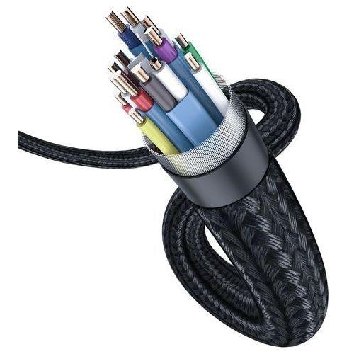 Baseus enjoyment kabel 4k hdmi - hdmi 3m szary (caksx-d0g) - 300 (6953156297784)