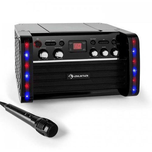 Zestaw karaoke Disco Fever Odtwarzacz CD-/CD+G uchwyt na tablet