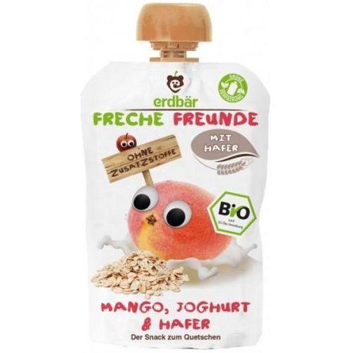 Mus Do Wyciskania Mango-Jogurt-Owies 100g EKO Erdbar Dla Dzieci