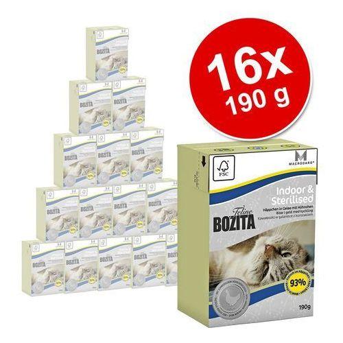 BOZITA Feline Hair & Skin Sensitive - tetra pak 24x190g