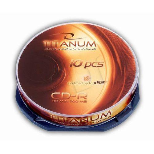 cd-r titanum 700mb/80min-cake box 10 52x szybka dostawa! darmowy odbiór w 19 miastach! marki Esperanza